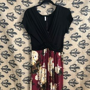 {Pink blush} Maxi dress